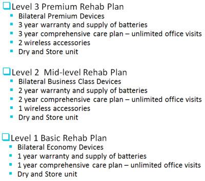 Audiology business plan